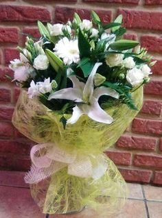 Flores Para, De Flores, Flores Blancas, Ramo De, Para Regalar, Ramas, Flowers, Flower, Gift