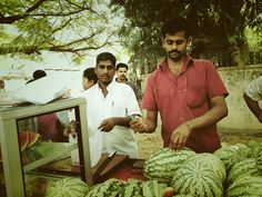 Watermelon and pepper specialist in #Bangalore, #Karnataka. We took this pic during our last trip in India.