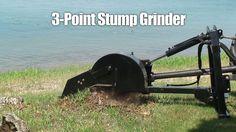 Erskine 3-Point Stump Grinder Attachment
