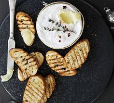 Oven-cook your favourite soft cheeses until gooey for this simple, last-minute crowd pleaser