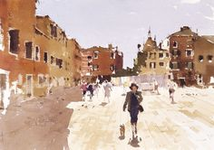 John Yardley does not need an introduction for watercolor lovers. An interview that I got 2 days ago. Did you come to watercolor or waterco...