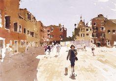 Art Of Watercolor: John Yardley. Interview. #watercolor jd