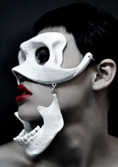 Under the mask I am me. Under the mask I am more me than me,. I am the me I can be. http://chloethurlow.com/2014/01/sex-strike/: