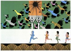 Dream imagery in Japanese illustration in the 70s and 80s - 50 Watts