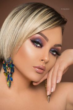 , infp celebrity, pretty celebrities, celebrity makeup looks. wedding makeup looks. Glam Makeup, Bridal Makeup, Beauty Makeup, Hair Makeup, Hair Beauty, Makeup Eyes, Makeup Monolid, Makeup Style, Celebrity Wedding Makeup