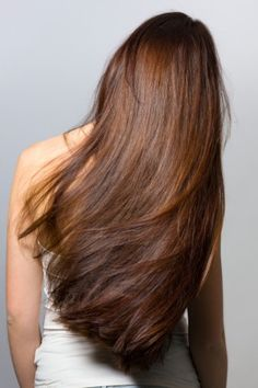 Naturally Go Bold With Brown - a natural brunette hair rinse