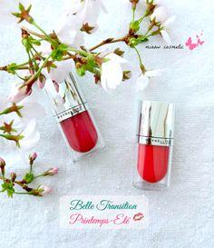 #Maybelline New york #Berry #Romantic #Yumyum #Coral #teintes à lèvres