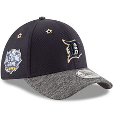 Detroit Tigers New Era 2016 MLB All-Star Game Patch 39THIRTY Flex Hat - Navy 6b5f51ebdf6d