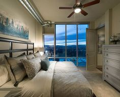 This Denver luxury penthouse perfectly blends city comfort & spectacular nature!