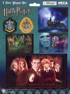 Harry Potter ( Harry Potter ) 7 Piece Magnet Set figure toy doll ( parallel import ) @ niftywarehouse.com #NiftyWarehouse #HarryPotter #Wizards #Books #Movies #Sorcerer #Wizard