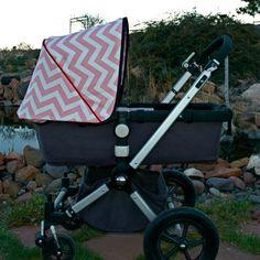 Bugaboo Canopy, Stroller Cover, Cameleon Canopy, Custom Cameleon Canopy. $65.00, via Etsy.