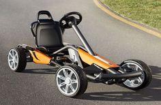 Coche a pedales de Go-Kart  de Porsche, el juguete más deseado
