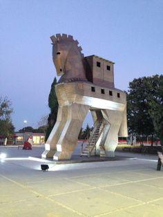 Tour Troy, Turkey (also known as Truva)