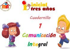 24 fichas de aplicación con actividades de lengua para niños de preescolar. Cuadernillo 1 comunicación integral 3 años