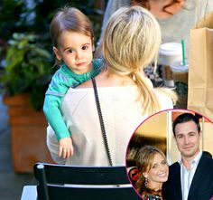 Sarah Michelle Gellar carrying son Rocky - Dad Freddie Prinze Jr's lookalike - 22 January 2014.