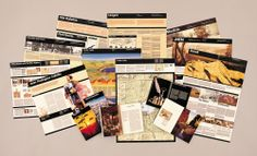 Massimo Vignelli. #Design for USA National Parks, 1977. #Print #Design