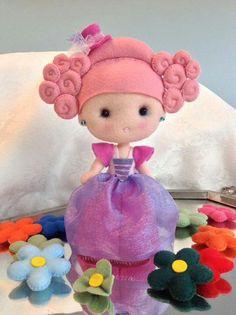 Princesa Juliana - A cor do feltro