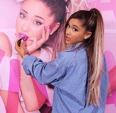 Ariana Grande Updates — Ariana Grande for her Mac Cosmetics Viva Glam...