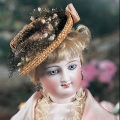 For the Love of Dolls, The Mildred Seeley Collection: 143 French Bisque Smiling Poupee by Leon Casimir Bru