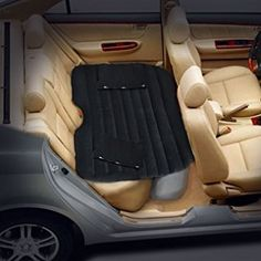 Only™ Car Mobile Cushion Air Bed Bedroom Inflation Travel Thicker Mattress Back Seat Extended Mattress