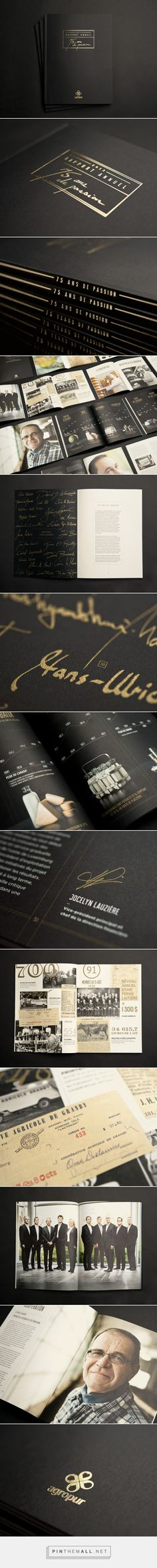 Agropur 2013 Annual Report | Agropur | Work | lg2boutique - created via http://pinthemall.net