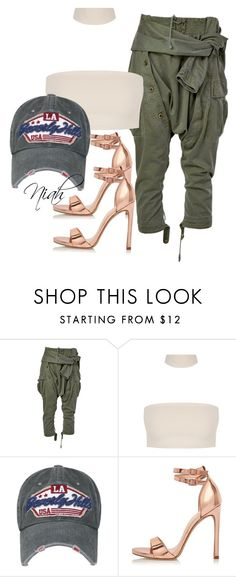 """""""Untitled #52"""" by stylezbyniah on Polyvore featuring Faith Connexion and River Island"""