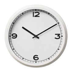 IKEA - PUGG, Wall clock, No disturbing ticking sounds since the clock has a silent quartz movement.Highly accurate at keeping time as it is fitted with a quartz movement.