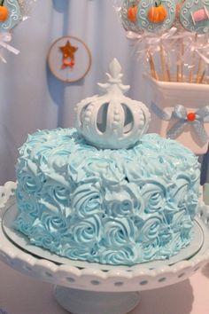 Simple Cinderella cake