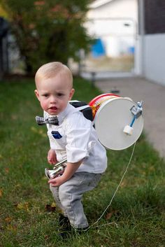 Make your little man into a one-man band!