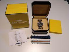 Breitling Colt Ocean Ref. A64350 Quarz Armbanduhr fighter full set mit Revision! · $200.00 Breitling Colt, Ebay, Shopping, Bracelet Watch