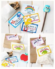 Lunch box love notes- Free printable. It's like a warm hug from you during their busy day