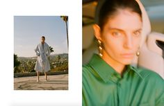 Ryan Willms and Annina Mislin gives us the best looks from Balenciaga Resort Resort 2017, We The Best, Editorial, Bloom, Drop Earrings, Summer, Summer Time, Chandelier Earrings, Verano