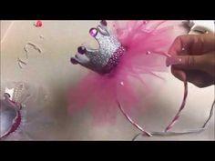 Diy: Diademas para niña en forma de Corona - YouTube