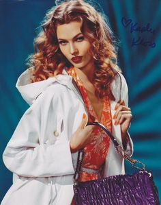 Karlie Kloss Autographed Signed 8X10 Photo Victoria Secret