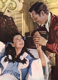 "Vivien Leigh and Clark Gable, ""Gone With The Wind"", Rhett Butler, Scarlett O'hara, Vivien Leigh, Clark Gable, Kirk Douglas, Old Movies, Great Movies, Classic Hollywood, Old Hollywood"