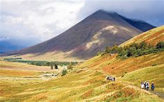 It takes a minimum of seven nights for an averagely fit person to walk the 96 miles from Loch Lomond to Fort William