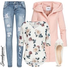 Outfit 9461 - Damen - Best Of Women Outfits Outfits Damen, Komplette Outfits, Night Outfits, Summer Outfits, Casual Outfits, Casual T Shirt Dress, Belted Shirt Dress, Casual Dresses, Blazer Dress
