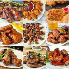 20 Fantastic Chicken Wing Recipes - baked, grilled or fried! From classic Honey Garlic to Blueberry Barbecue or Baked Kung Pao, find your fave wings here.