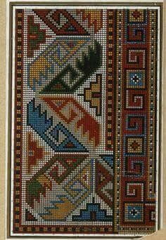 This Pin was discovered by rab Cross Stitch Borders, Cross Stitch Designs, Cross Stitching, Cross Stitch Patterns, Folk Embroidery, Cross Stitch Embroidery, Embroidery Patterns, Tapestry Crochet Patterns, Weaving Patterns