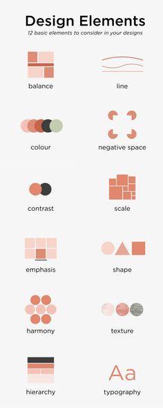 Design Websites, Graphic Design Lessons, Graphic Design Tutorials, Graphic Design Inspiration, Web Design Quotes, Infographics Design, Graphisches Design, Design Basics, Cover Design