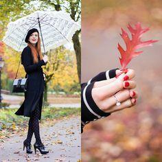 Get this look: http://lb.nu/look/7898356  More looks by Sonja Vogel: http://lb.nu/retrosonja  Items in this look:  Pandora Pearl Ring, Shoeby Coat   #elegant #retro #vintage #parisian #parisienne #beret #hat #fall #autumn