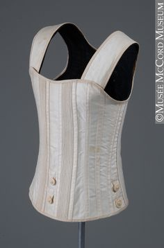 1890 Girl's Corset-waist Source: http://www.mccord-museum.qc.ca/en/collection/artifacts/M2006.110.1