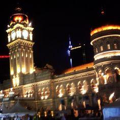 """Bangunan Sultan Abdul Samad  #malaysia #kualalumpur #nightview #travel #馬來西亞 #吉隆坡 #旅行 #말레이시아 #쿠알라룸푸르 #여행"" Photo taken by @ishideo on Instagram, pinned via the InstaPin iOS App! http://www.instapinapp.com (07/13/2015)"