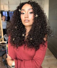 Side Flat Twists with High Ponytail - 60 Styles and Cuts for Naturally Curly Hair in 2019 - The Trending Hairstyle Little Mix Girls, Little Mix Jesy, Long Bobs, Trending Hairstyles, Bob Hairstyles, Haircuts, Double Long Bob, Mixed Girl Curly Hair, Girl Hair