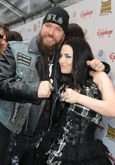 amy lee Hartzler  with Black Label Society