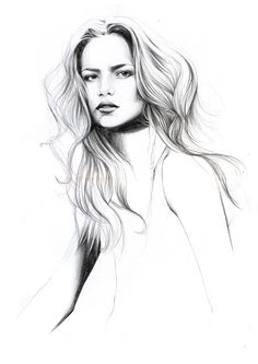 Fashion Illustration by Caroline Andrieu