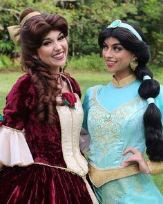 Christmas Belle and Jasmine