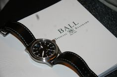 Ball Fireman I Omega Watch, Watches, Leather, Accessories, Wristwatches, Clocks, Jewelry Accessories