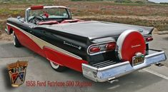 1958 Ford Fairlane Pictures: See 43 pics for 1958 Ford Fairlane. Browse interior and exterior photos for 1958 Ford Fairlane. Get both manufacturer and user submitted pics. Ford Fairlane, Car Ford, Ford Trucks, Ford V8, Vintage Cars, Antique Cars, Convertible, Buick Lesabre, Ford Shelby