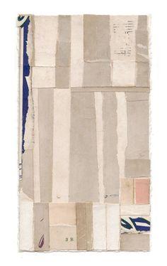 """happy-crucian:    Lisa Hochstein  Intermezzo-483.5"""" x 6.5""""salvaged paper"""